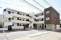屋上ドッグランを実装した集合住宅の例